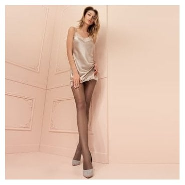Trasparenze Katia 15 denier double-covered sheer tights