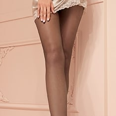 Katia 15 denier double-covered sheer tights
