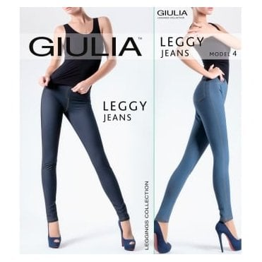 Giulia Leggy Jeans model 4 cut-and-sewn leggings