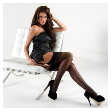 Nylonica Linea Classica Sheer 15 stockings - PLUS SIZE - classic colours