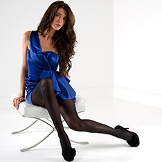 Linea Lusso Silk 40 opaque tights