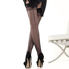 Linea Sensuale seamed stockings