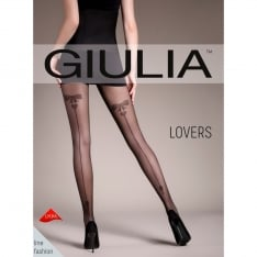 Giulia Lovers 20 model 5 heart backseam tights