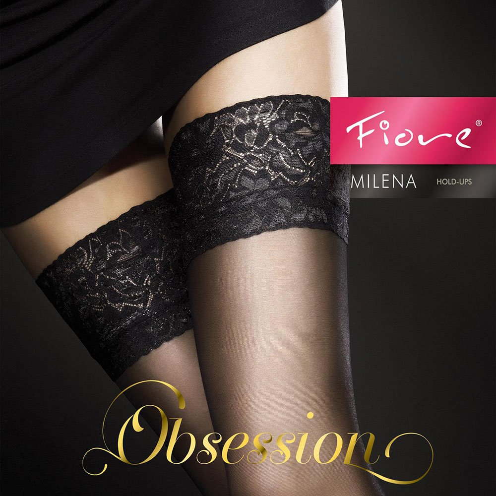 Fiore Milena 20 denier sheer lace top hold-ups