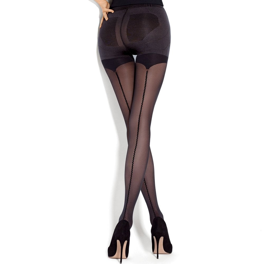 4f2734ee7ce Mona Push-Up Allure seamed control top tights
