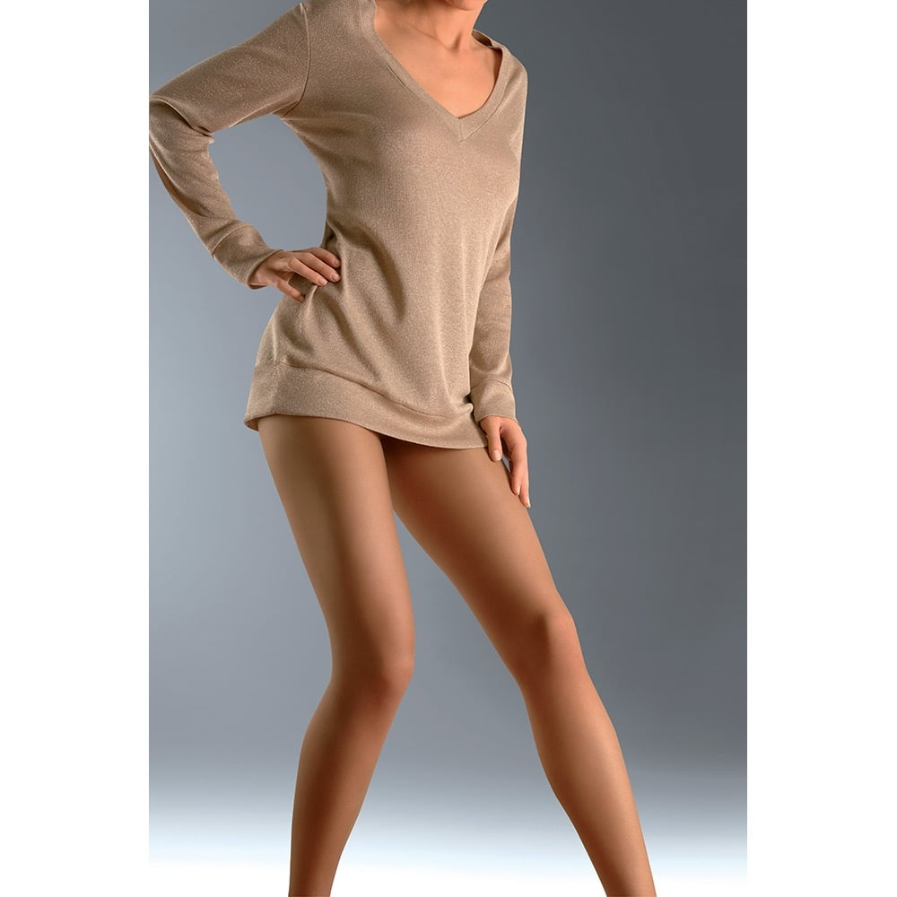 Le Bourget Mousse plus size comfort panel tights -SAVE 15%!