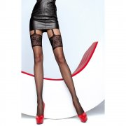 Fiore Muriel mock suspender tights - END OF LINE - SAVE 34%