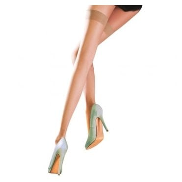 Pretty Polly Naturals 8 denier ultra-sheer hold-ups