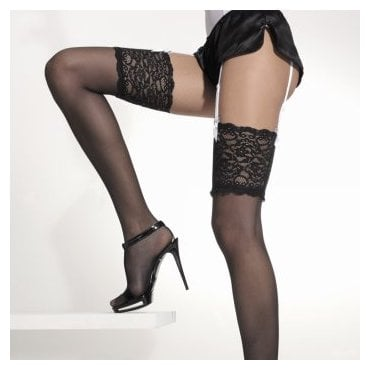 Girardi Night lace top stockings