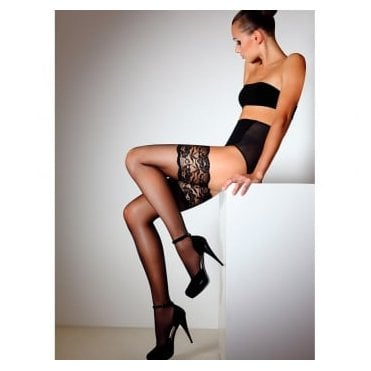 Giulia Passion 20 deep lace top hold-ups