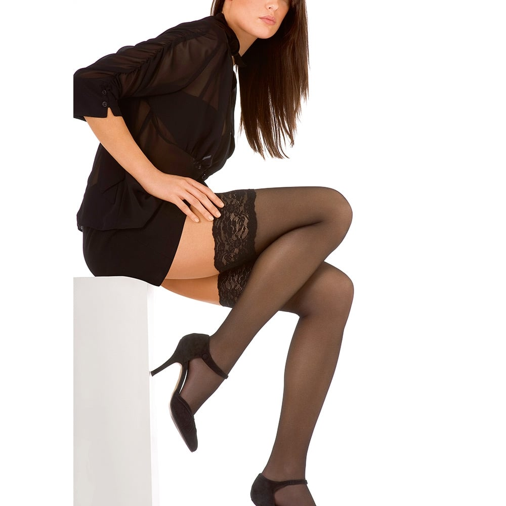 Le Bourget Perfect Chic 20 luxury lace top hold-ups