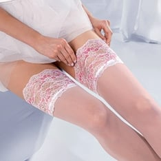 Princessa Calze 04 lace top hold-ups