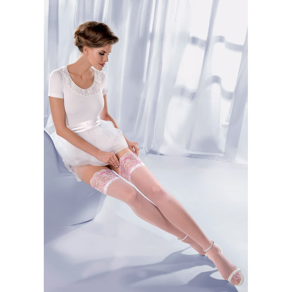 Gabriella Princessa Calze 04 lace top hold-ups