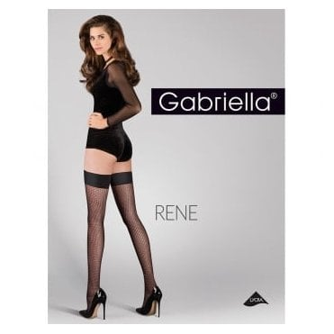 Gabriella Rene patterned hold-ups