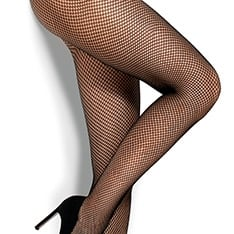 Rete fishnet tights
