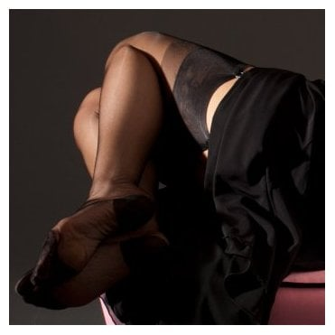 Eleganti RHT non-stretch nylon stockings - PLAIN COLOUR - SECONDS
