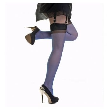 Gio RHT stockings - FULL CONTRAST - Perfects - XT - extra tall