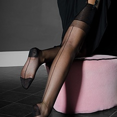 RHT stockings - SEAMED - RARE - SECONDS