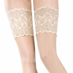 Rive Gauche 100% silk hold-ups - SAVE 33%!