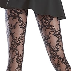 Rosemary lace effect tights - SAVE 30%!