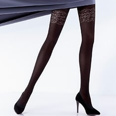 Rufina model 10 opaque tights