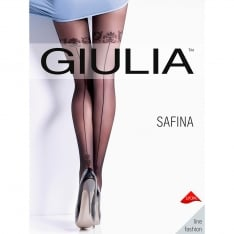 Giulia Safina 20 model 5 backseam tights