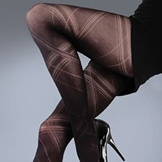 Scarlet Criss Cross tights