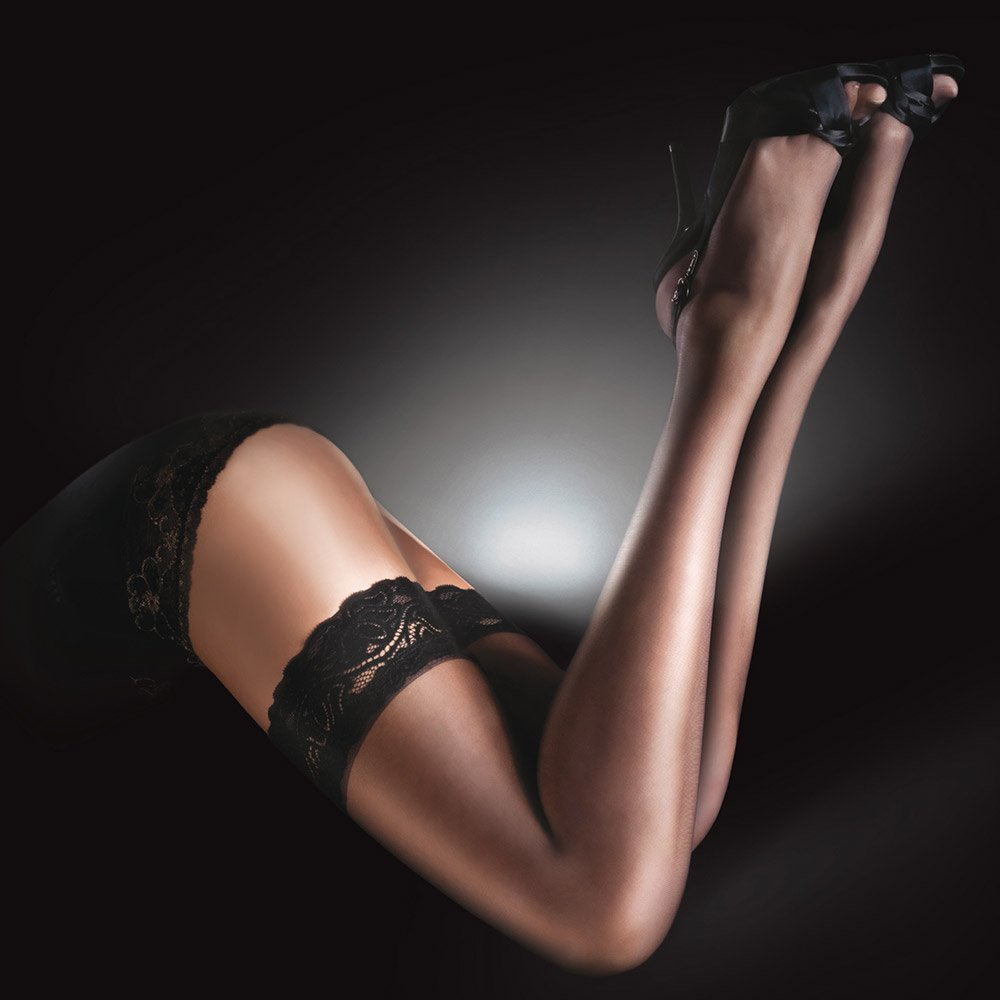 Aristoc Sensuous luxury lace top hold-ups
