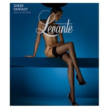 Levante Sheer Fantasy lace top 12 denier hold-ups