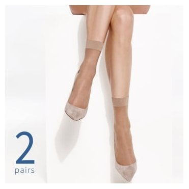 Charnos Simply Bare ankle highs - 2 pair pack