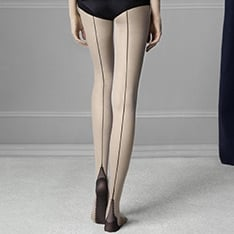 Sin backseam tights