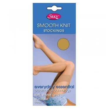 Silky Smooth Knit 100% stretch nylon stockings