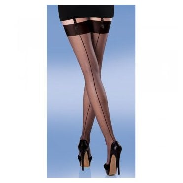 Silky Smooth Knit Seamer seamed stockings