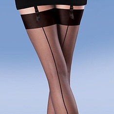 Smooth Knit Seamer seamed stockings