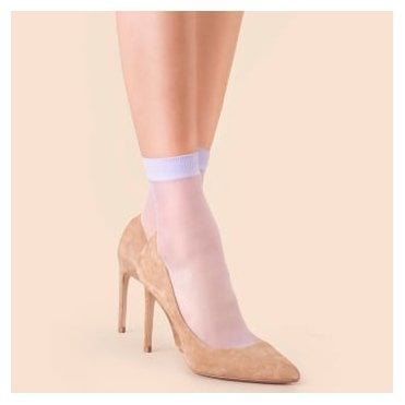Fiore So Sweet sheer ankle highs - 2 pair pack