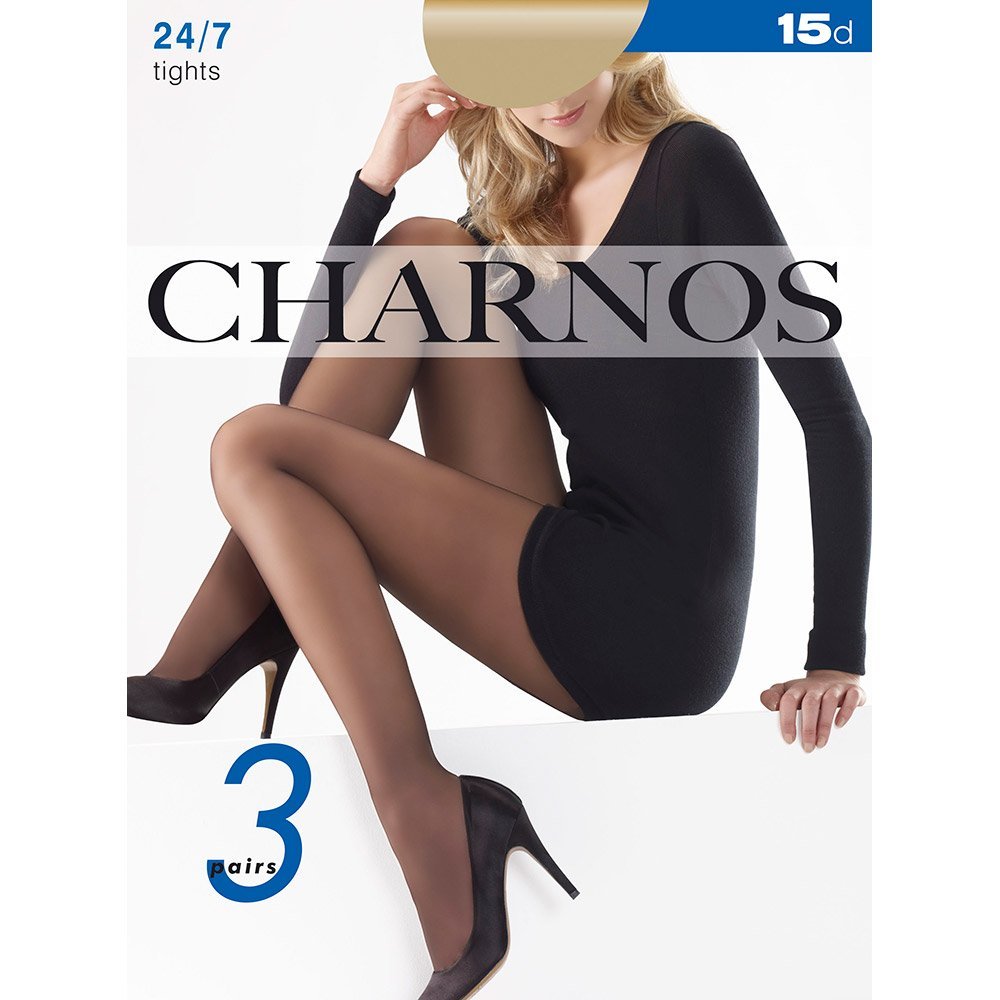 Charnos SPECIAL OFFER - 24-7 sheer tights - 3 pair pack