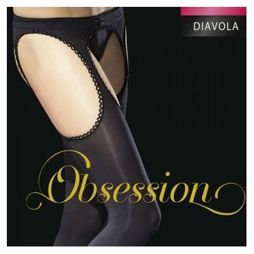 Fiore SPECIAL OFFER - Diavola opaque suspender tights