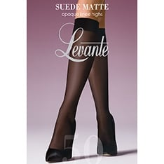 Suede Matt 50 denier opaque knee highs