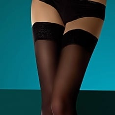 suede matt opaque hold-ups - New Sizing