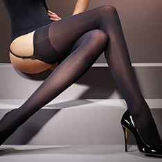 Suede Matt opaque stockings