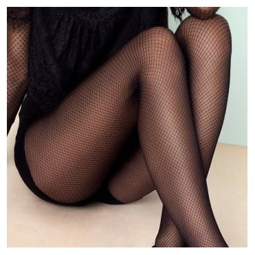 Fiore Supernatural diamond pattern tights