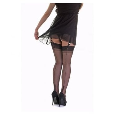 Gio Susan heel fully fashioned stockings