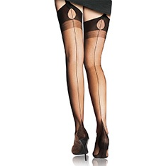 Tentation fully fashioned stockings