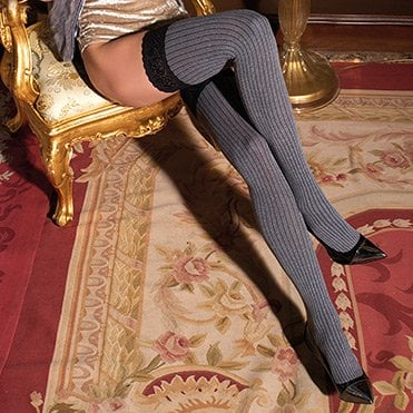 Trasimede cotton pinstripe hold-ups