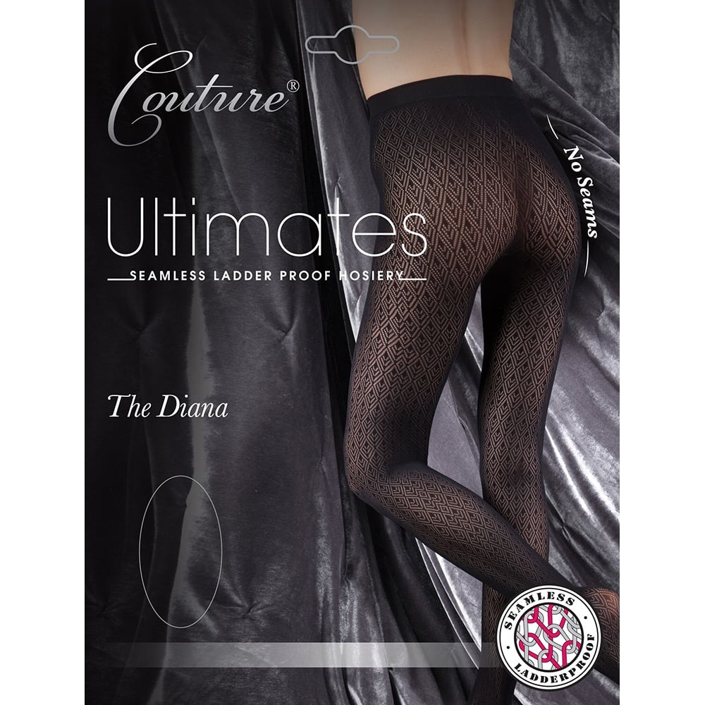 Couture Ultimates Diana seamless ladder-proof tights
