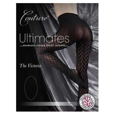 Couture Ultimates Victoria seamless ladder-proof tights