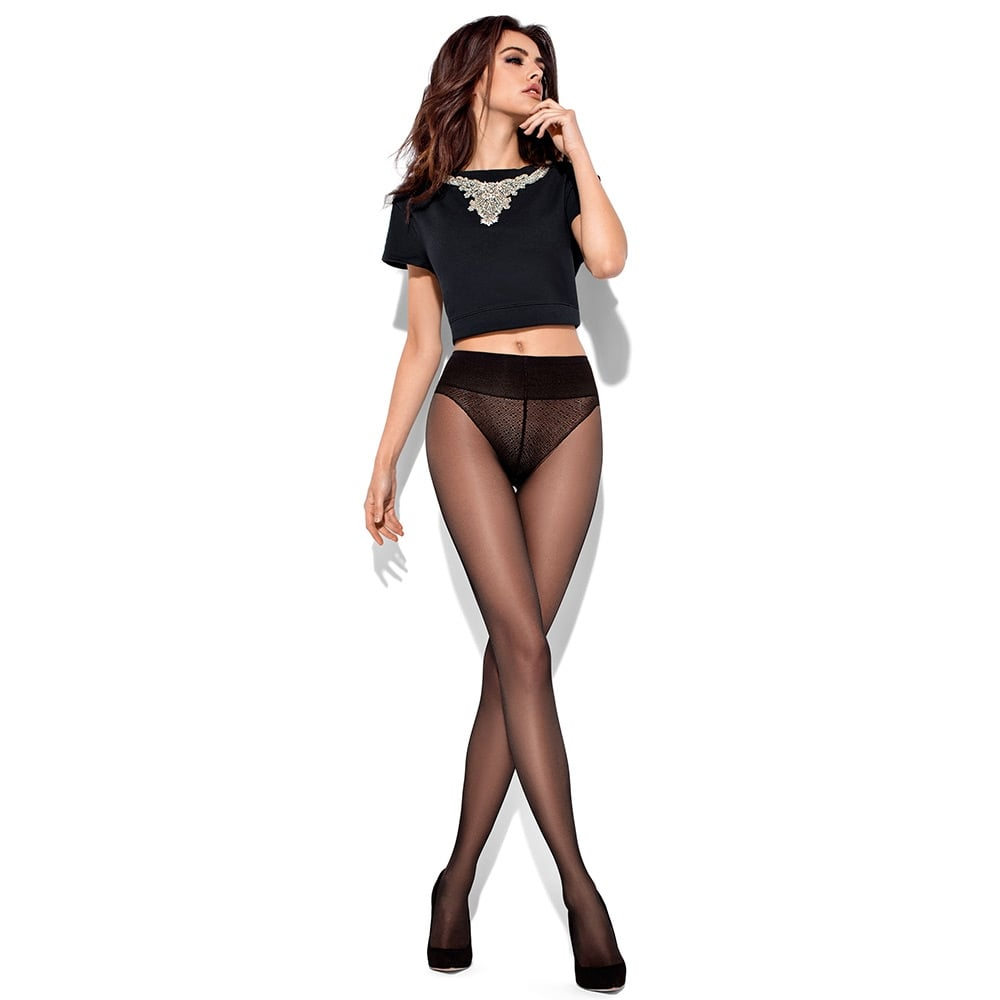 Mona Vita Bassa 20 denier bikini brief tights