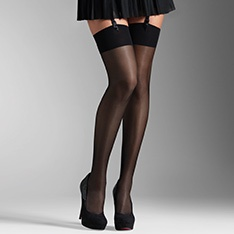 Voilance luxury satined sheer stockings
