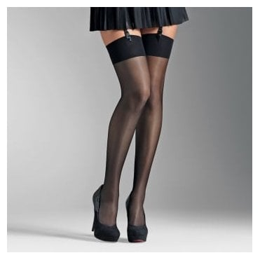 Le Bourget Voilance luxury satined sheer stockings
