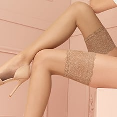 Voile 8 denier ultra sheer hold-ups